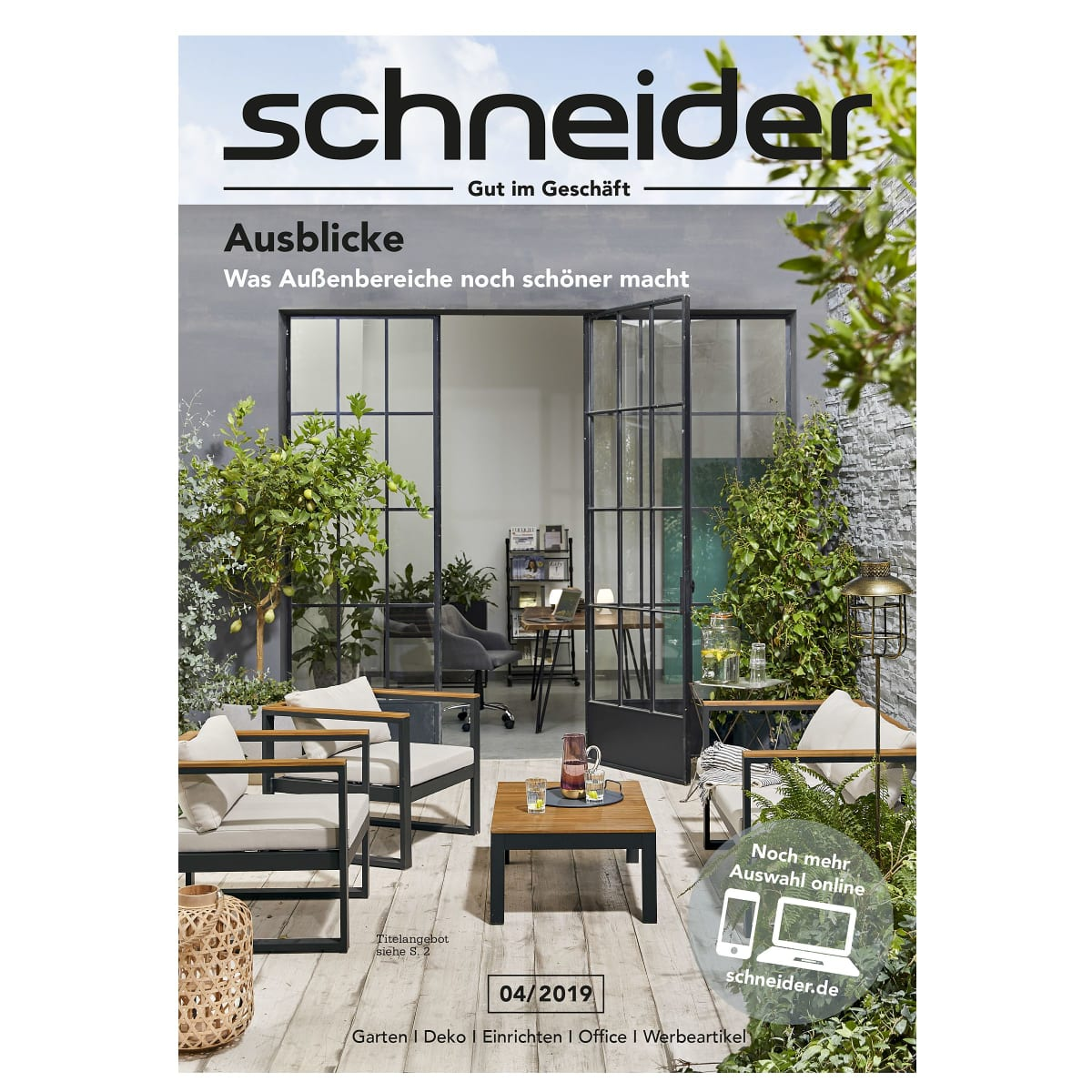 katalog bestellen im online shop schneider de. Black Bedroom Furniture Sets. Home Design Ideas